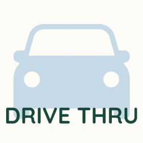 Drive-thru para compras