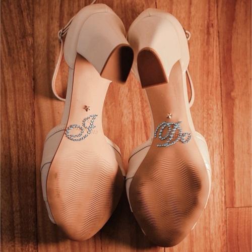 adesivos de sapato